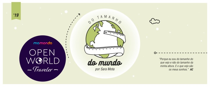 Open World Traveler Ambassador: viajanteMomondo