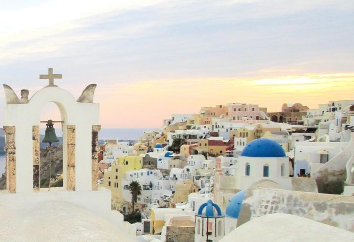 Santorini: a mais bela pinturaGrega