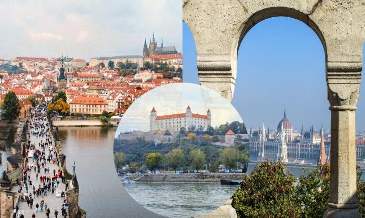 Europa Central: roteiro pela República Checa, Eslováquia eHungria