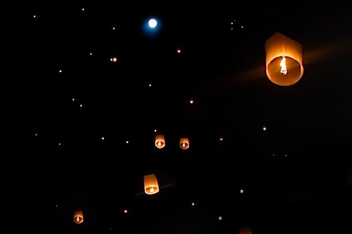 Yee Peng, o festival das lanternas Tailandesas & LoyKrathong